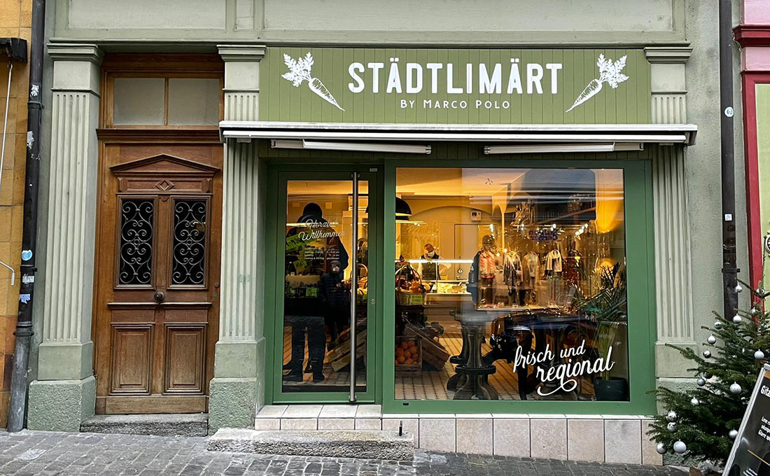 Lebensmittelgeschäft in Bremgarten AG